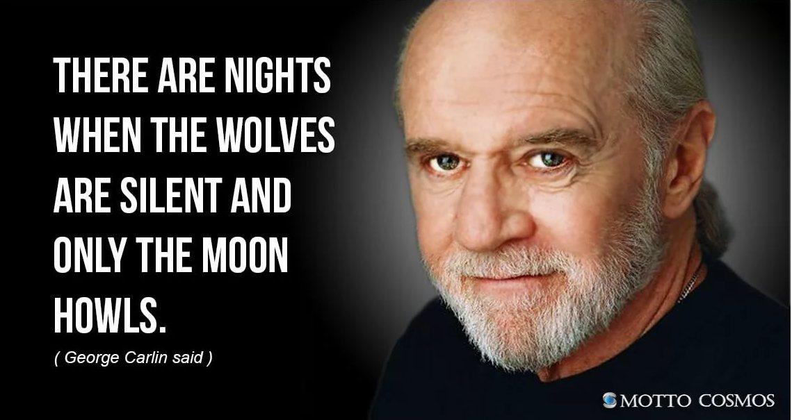 Бывают ночи, когда не волки воют на луну, а наоборот.